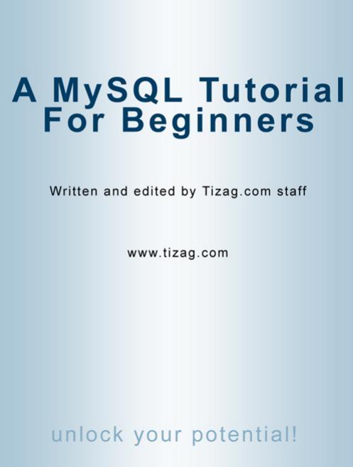 a-mysql-tutorial-for-beginners