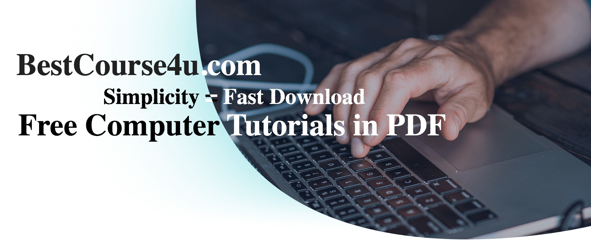 Download free pdf Courses on graphics tutorials